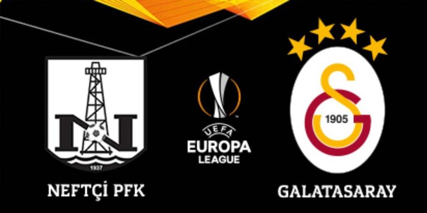 Neftçi Bakü – Galatasaray maçı 3-1 bitti