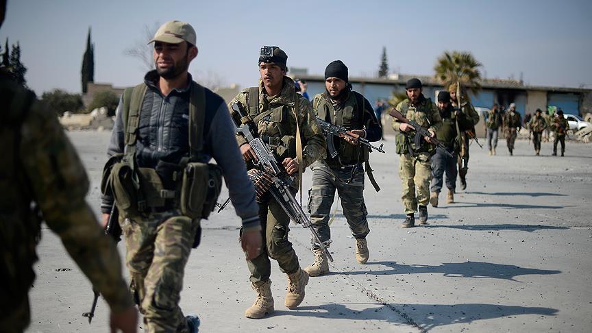 El Bab'da kontrol sağlandı