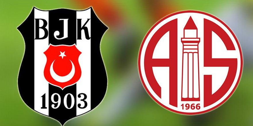Beşiktaş-Antalyaspor maçı 1-1 bitti
