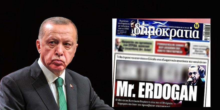 Cumhurbaşkanı Erdoğan'a hakaret etmişlerdi... Yılmaz Özdil, Yunan gazetesinin en önemli yazarının kim olduğunu açıkladı