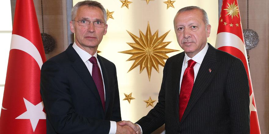 Cumhurbaşkanı Erdoğan  NATO Genel Sekreteri ile görüştü