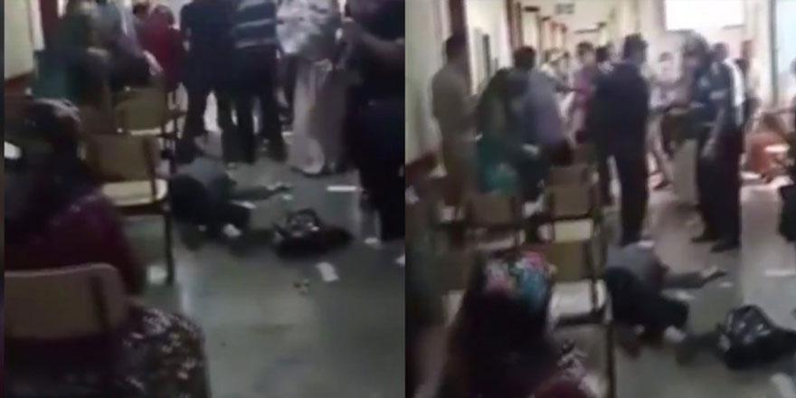 Yeter artık dedirten görüntüler! Şimdi de maske uyarısı yapan sağlıkçıya saldırdılar