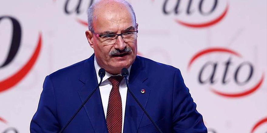 ATO Başkanı Gürsel Baran test sonucunu açıkladı