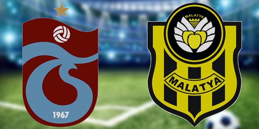 Trabzonspor-Yeni Malatyaspor maçı bitti