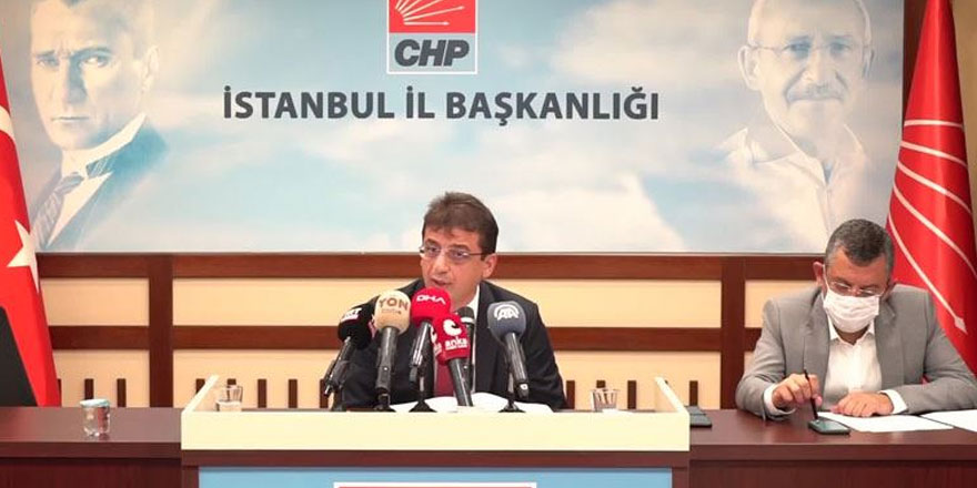 CHP'li Yunus Emre Demokrasi Raporu'nu açıkladı