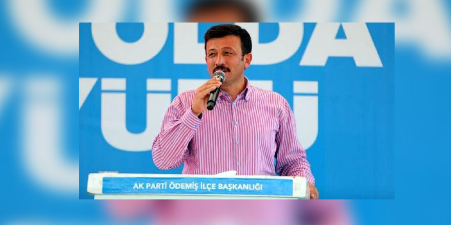 AKP'li Dağ kongrede konuştu: Biz iktidarız, avucunuzu yalayacaksınız