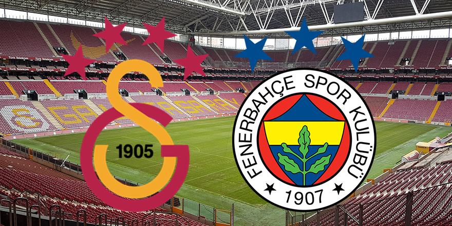 Galatasaray-Fenerbahçe maçı beraber bitti