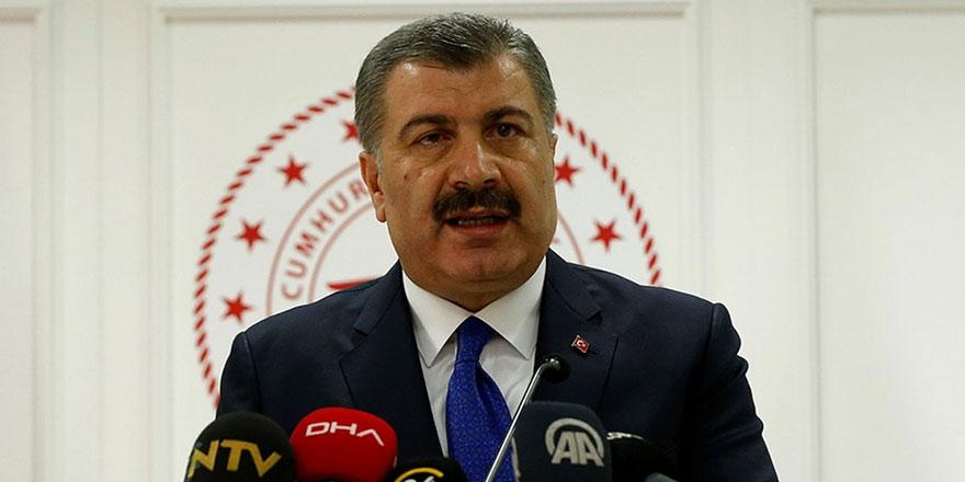 Sağlık Bakanı Fahrettin Koca korana virüs verilerini açıkladı!