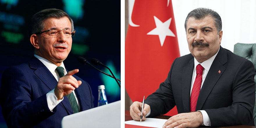Ahmet Davutoğlu'ndan Fahrettin Koca'ya: Aklımızla dalga geçmeyin