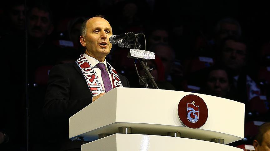 Trabzonspor Başkanı Usta'dan taraftara çağrı