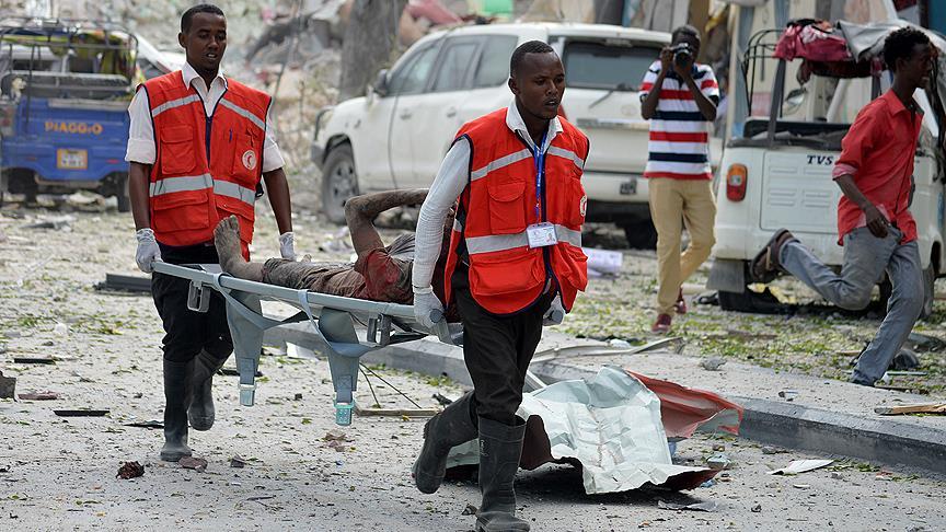 Somali'de pazar yerine bombalı saldırı