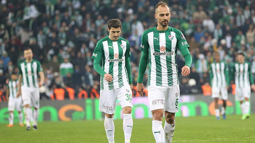 Bursaspor'da galibiyet özlemi sürüyor