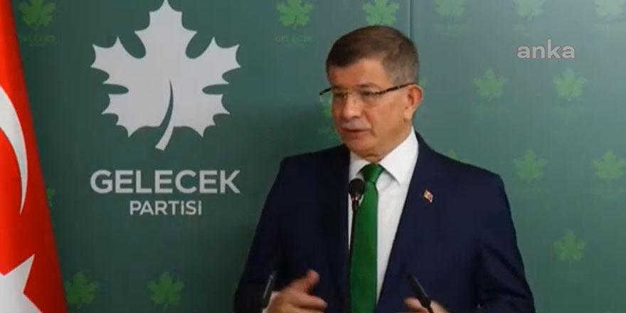 Ahmet Davutoğlu'ndan Recep Tayyip Erdoğan ve Devlet Bahçeli'ye çok sert sözler