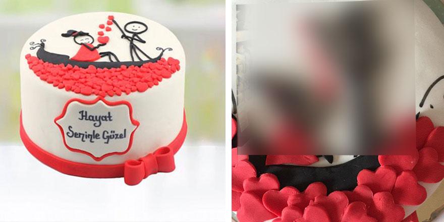 Çiçeksepeti uygulamasından kız arkadaşına pasta siparişi verince başına öyle bir şey geldi ki...