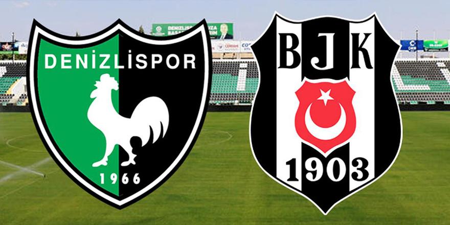 Denizlispor-Beşiktaş maçı bitti