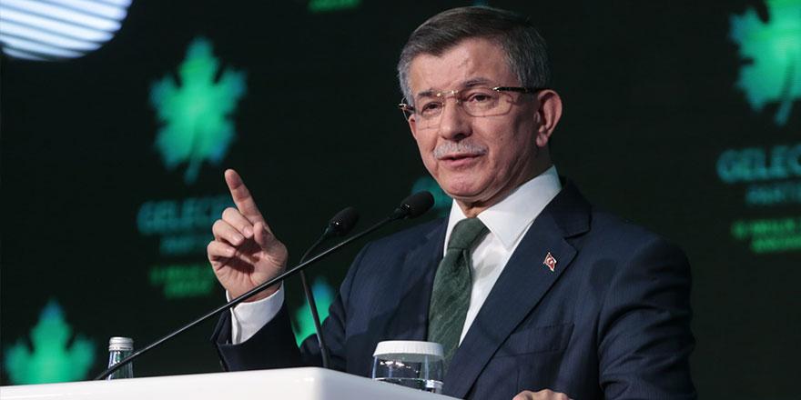 Gelecek Partisi lideri Ahmet Davutoğlu, kongrede yapacağı konuşmaya önemli bir sürpriz hazırlıyor