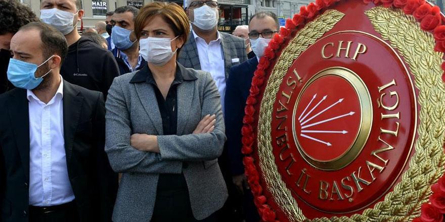 Taksim'de 29 Ekim krizi Canan Kaftancıoğlu töreni terk etti
