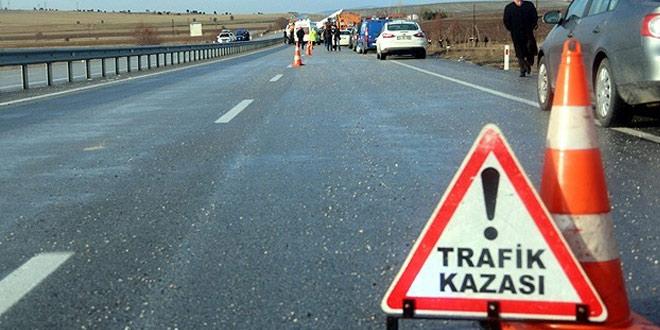 Denizli'de trafik kazası: 2 Ölü
