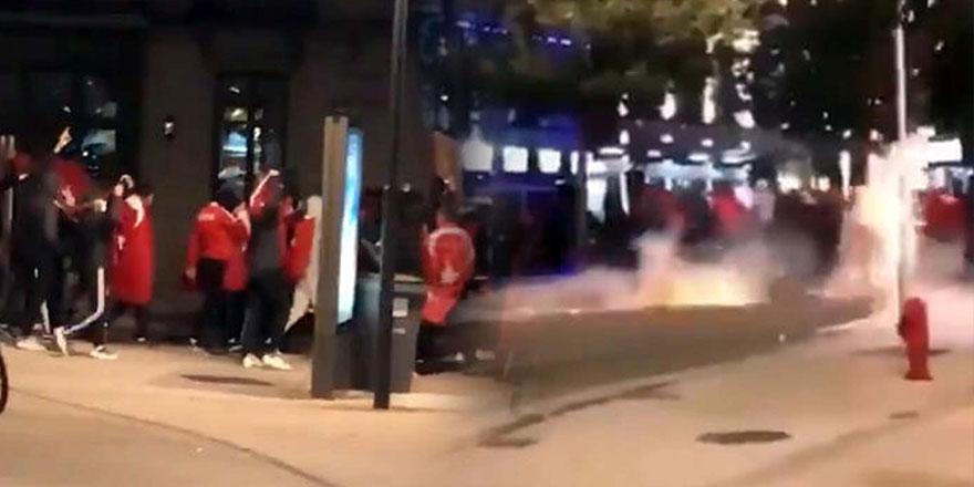 Fransız polisinden Türklere müdahale ve ceza!