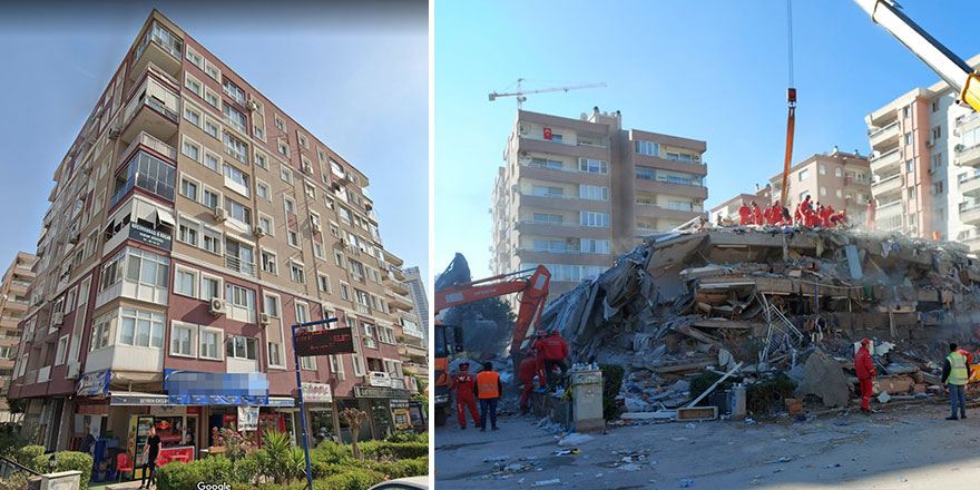 Rızabey Apartmanın yıkılışındaki acı gerçek!
