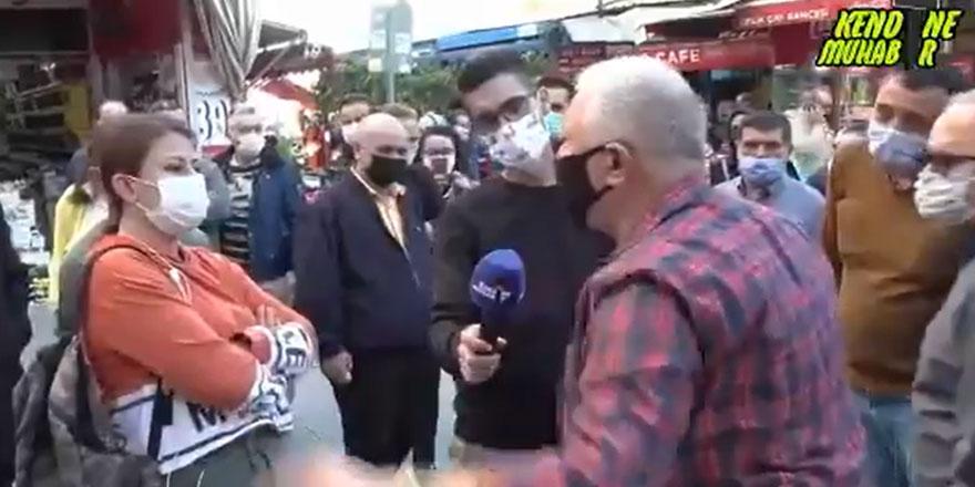 Bütün sokak onu alkışladı, AKP'ye toz kondurmayan kadına öyle bir soru sordu ki...
