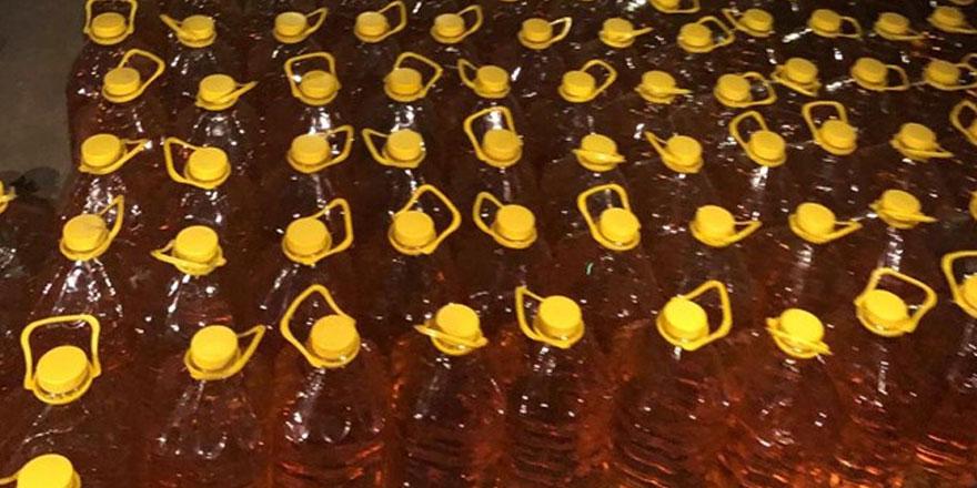 Tekirdağ'da 90 bin kaçak içki ele geçirildi