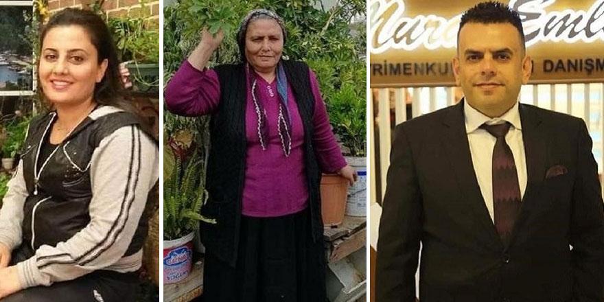 Mersin'de Fadime Karabulut ve çocukları Murat ile Selda Karabulut koronadan hayatını kaybetti