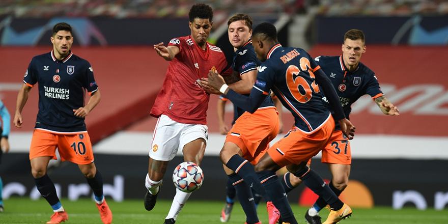 Başakşehir, İngiltere deplasmanında Manchester United'a 4-1 mağlup oldu