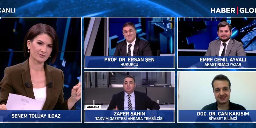 AKP Tanıtım ve Medya Başkan Yardımcısı Emre Cemil Ayvalı ekranlara döndü