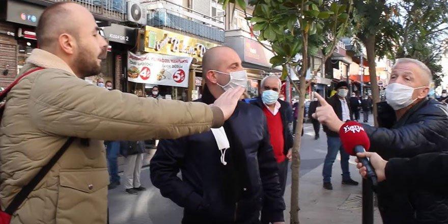 Borsa İstanbul sokak röportajında sorulunca birbirlerine girdiler