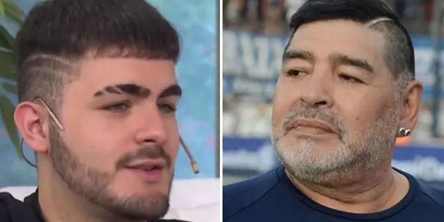Santiago Lara, Diego Maradona'nın oğlu olduğunu iddia etti