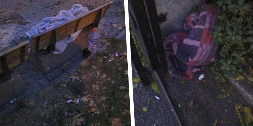 Sokağa çıkma yasağı başlayınca evsiz vatandaşlar bakın nereye sığındı... İBB bu ayıba 'dur' dedi