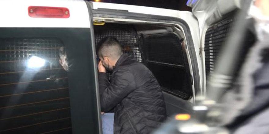 Sabah cezaevinden tahliye oldu, akşam gözaltına alındı