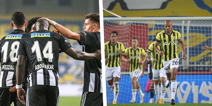 Dev derbide kazanan Beşiktaş oldu