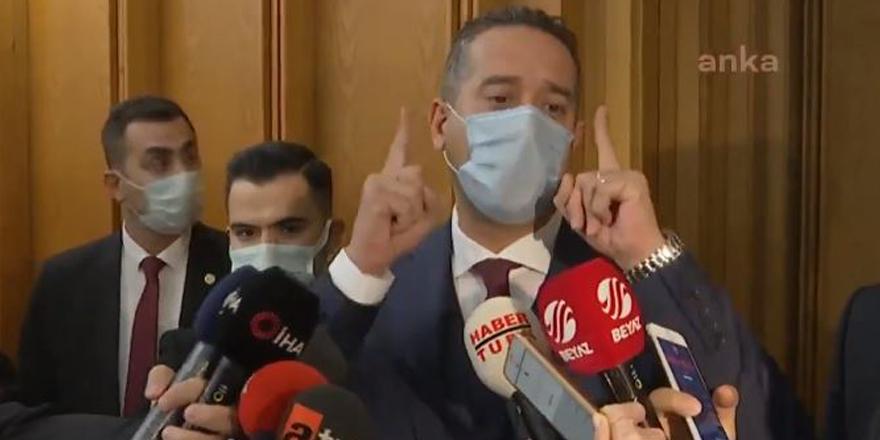 CHP Mersin Milletvekili Ali Mahir Başarır'dan ordu açıklaması: Allah'a havale ediyorum