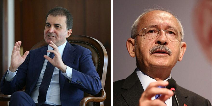 AKP sözcüsü Ömer Çelik'ten Kemal Kılıçdaroğlu'na sert tepki!