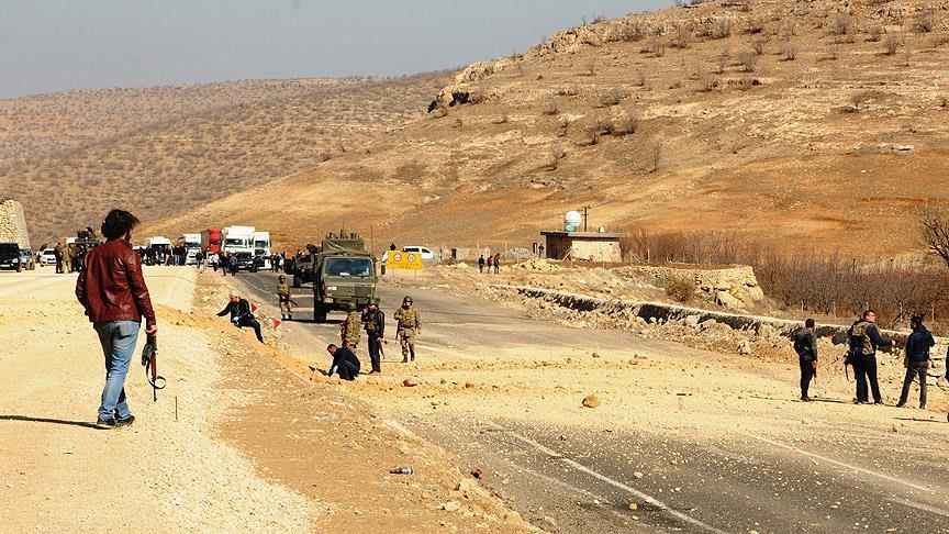 Mardin'de alçak saldırı