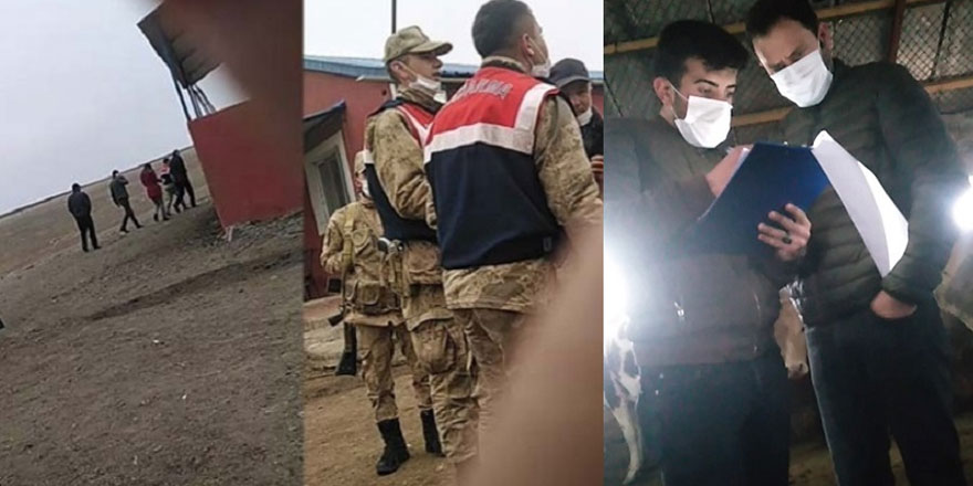 Köylünün durumu perişan... Kars'ta çiftçinin hayvanı haczedildi