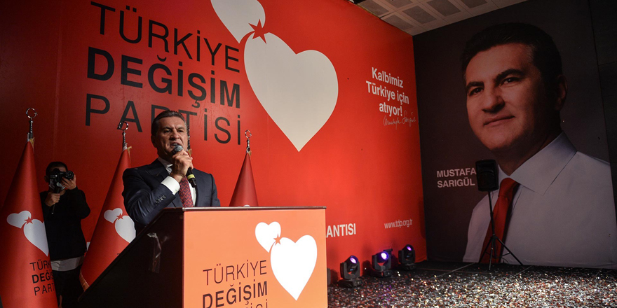 Türkiye Değişim Partisi Genel Başkanı Mustafa Sarıgül'e haciz şoku