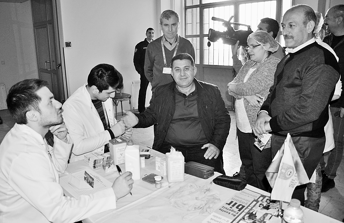 Silivri Belediyesi'nden  halka sağlık kontrolü