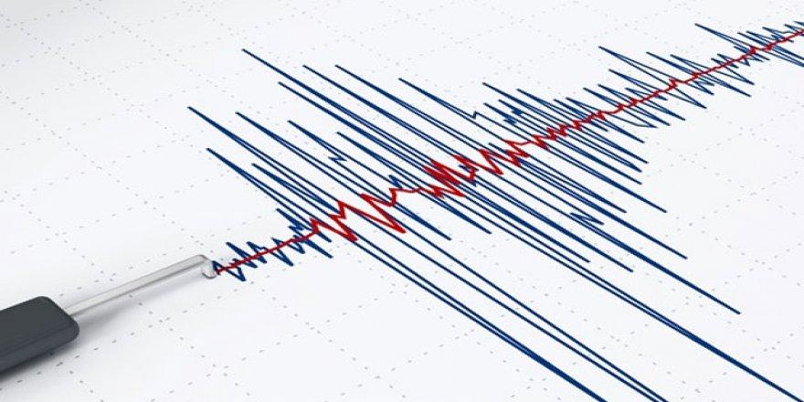 Bursa'da 2.9 büyüklüğünde deprem