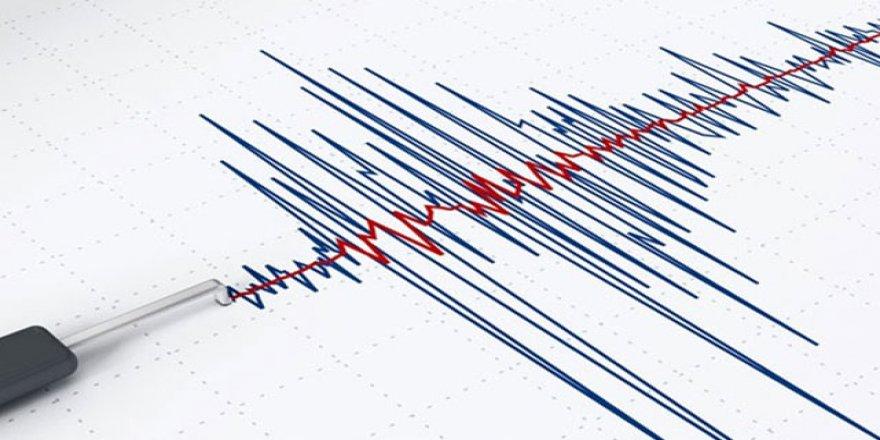 Akdeniz'de 3.0 büyüklüğünde deprem