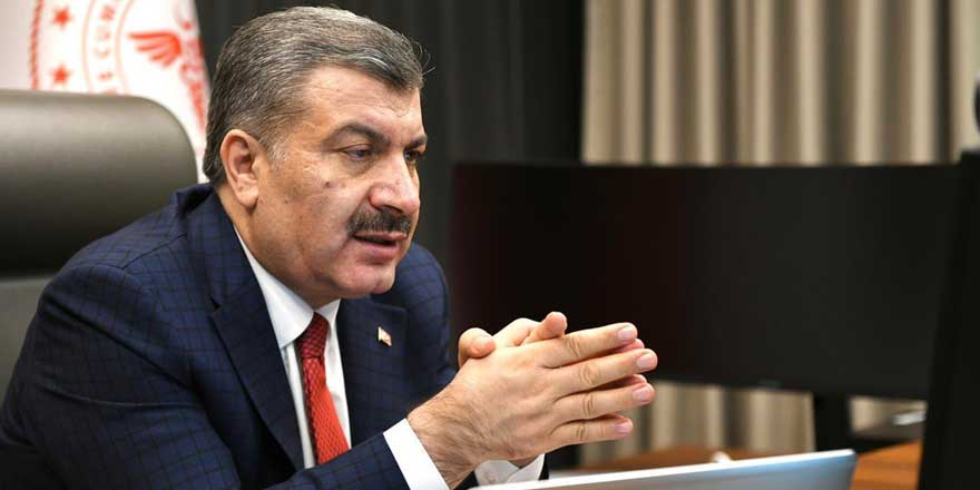 Sağlık Bakanı Fahrettin Koca'dan sorulara yanıt yok