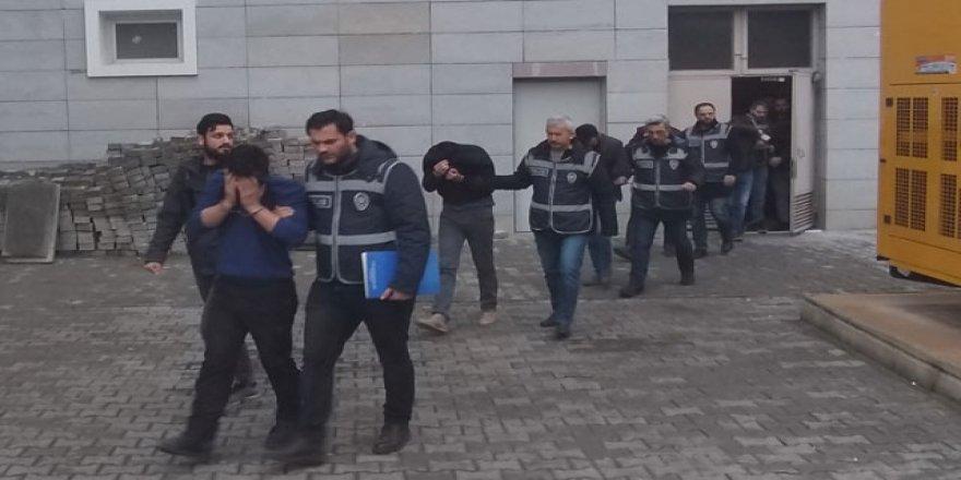 Samsun'da hırsızlık çetesi çökertildi: 11 gözaltı