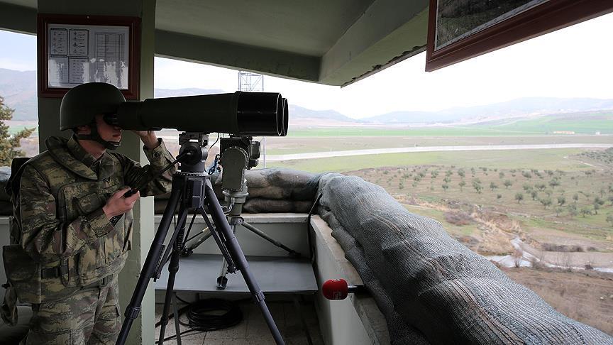 Suriye sınır hattında kuş uçurtulmayacak