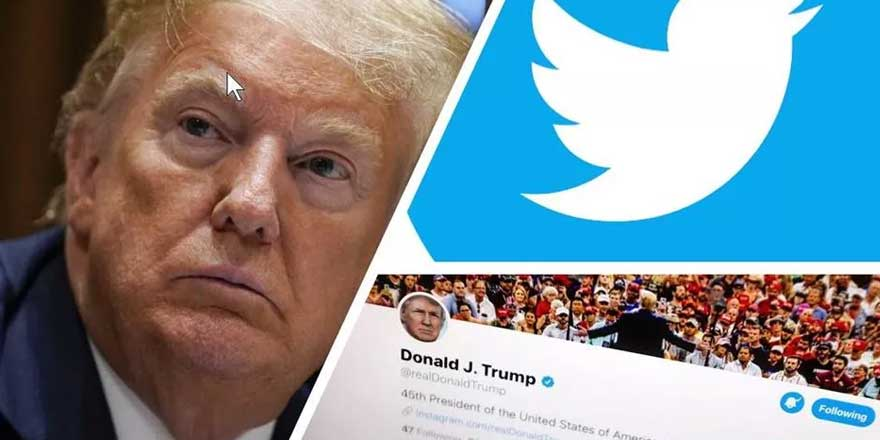 Twitter bu kez Donald Trump'a en yakın ismin hesabını askıya aldı