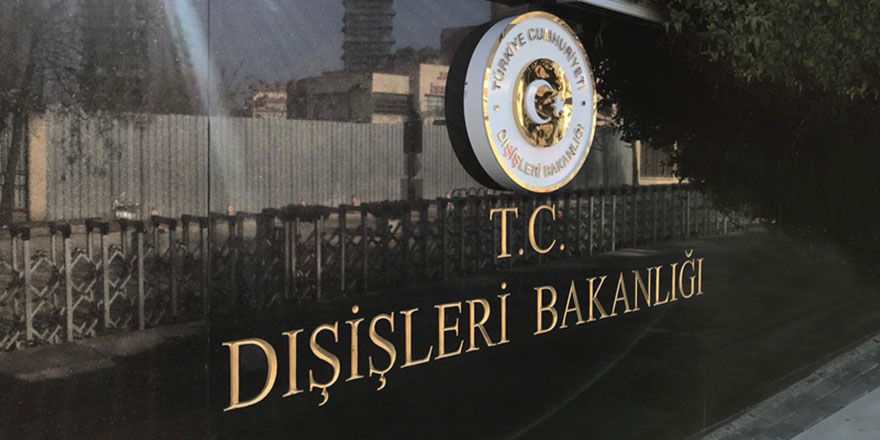 Dışişleri Bakanlığı'ndan Kosova'ya kınama