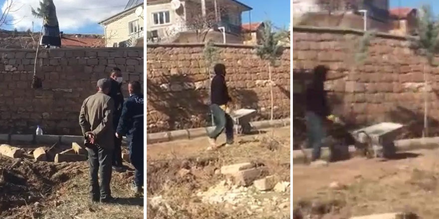 Nevşehir'de Cennet D. belediye çalışanlarına saldırdı!
