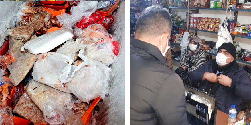 Sağlığınızla böyle oynuyorlar! Adana'daki marketten şok görüntüler