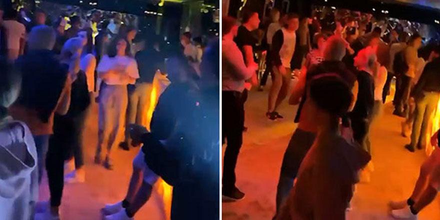 Böyle rezalet görülmedi!  Antalya'da otelde 'korona' partisi